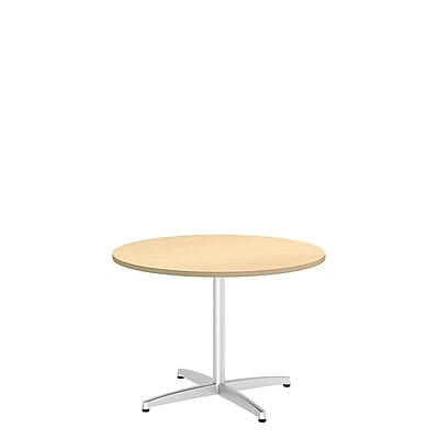 Bush Business 42'' Round Conference Table, Natural Maple (99TBX42RACSVK)