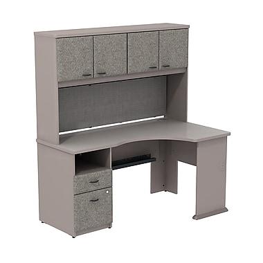 Bush Cubix Expandable Corner Desk with 60