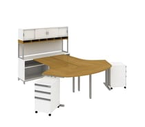 bush momentum commercial furniture bundles - Bush Office Furniture