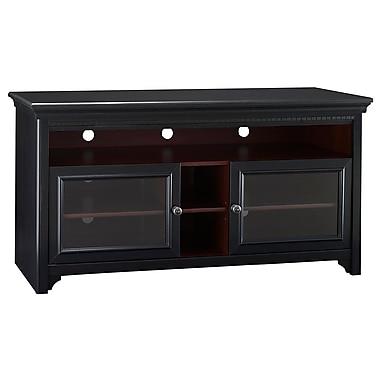 Bush Stanford Flat Panel TV Stand, Antique Black