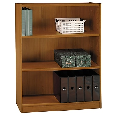 Bush 3-Shelf Bookcase, Royal Oak