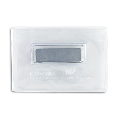 134120531 Magnetic Badge Holders, Credit Card Size, Clear, 25/Pack