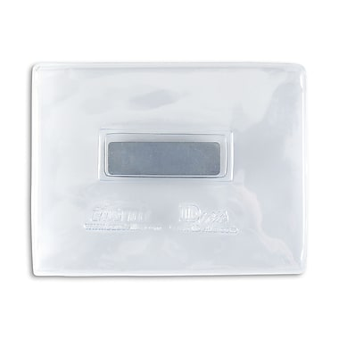134120431 Magnetic Badge Holders, Clear, 25/Pack