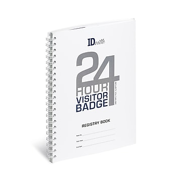 IDville® Visitor Pass Standard Login Book