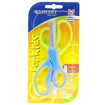 Westcott® 13168/Kids Value Scissors with Blunt Tip, 5