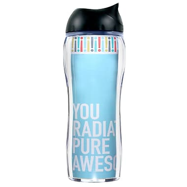 Baudville® No Spill Travel Mug, Exclamations