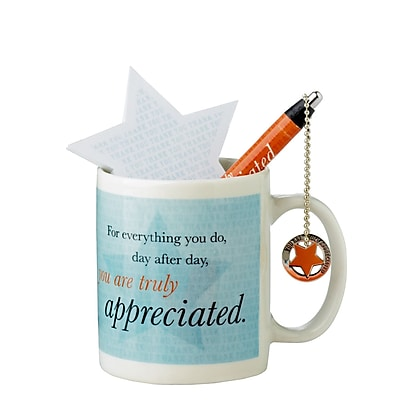 Baudville® Celebration Mug Gift Set, You Are Truly Appreciated