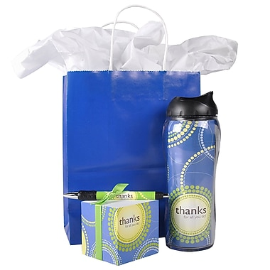 Baudville® Office Gift Set, Thanks for All You Do!