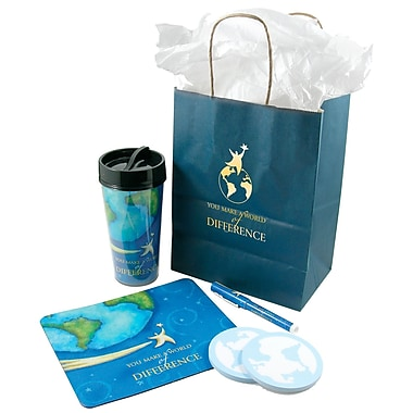 Desktop Essentials Gift Set, You Make a World of Difference