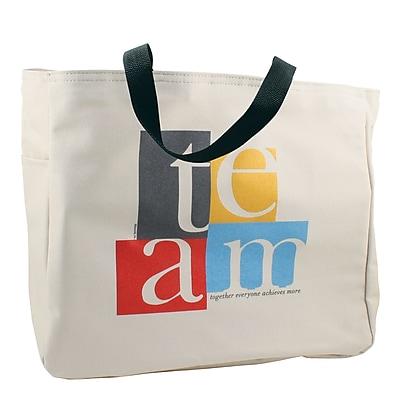 Baudville® Tote Bag, TEAM