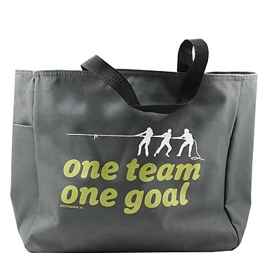 Grey Tote Bag, One Team, One Goal