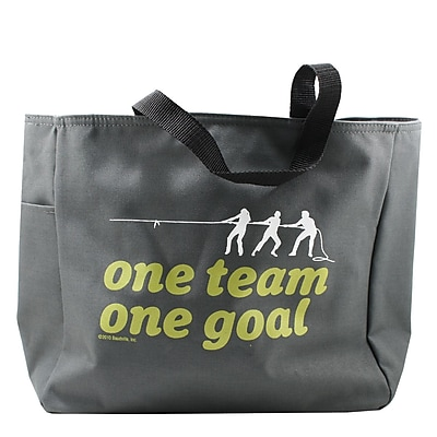 Baudville® Tote Bag, One Team, One Goal
