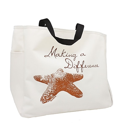 Baudville® Tote Bag, Starfish: Making a Difference