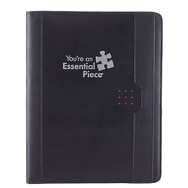 Baudville® Portfolio With Notepad, Essential Piece
