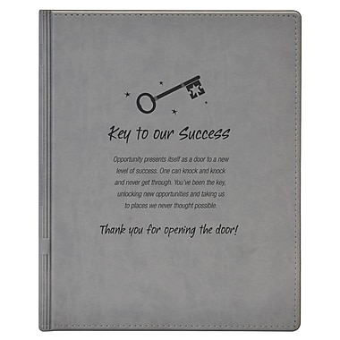 Notepad Holder, Key to Success