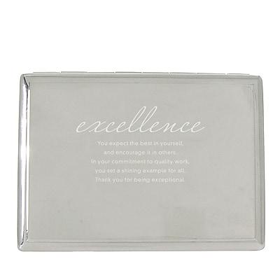 Baudville® Desktop Perpetual Calendar W/ Organizer, Excellence