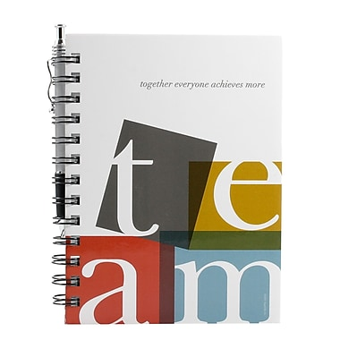 Hardcover Journal With Pen, TEAM