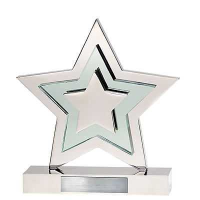 Crystal Accent Radiant Star Award