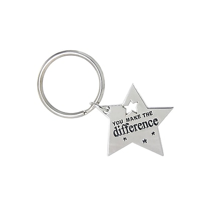 Key Chain, You Make the Difference Star