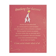 Character Pin With Card, Reaching for Success
