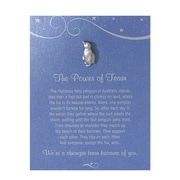 Pewter Character Pin With Card, Penguin: the Power of Team - Blue Card