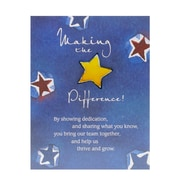 Character Pin With Card, Making the Difference