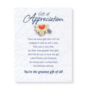 Character Pin With Card, Gift of Appreciation