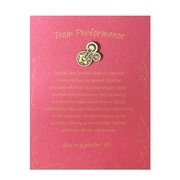 Baudville® Character Pin W/ Card, Gears Team Performance