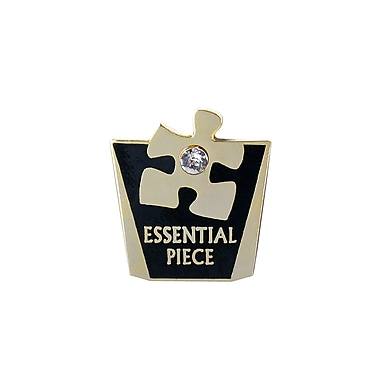 Lapel Pin, Essential Piece With Gem
