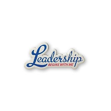 Baudville® Lapel Pin, Leadership Begins With Me