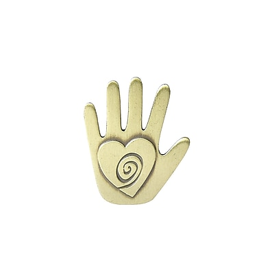 Baudville® Lapel Pin, Helping Hand