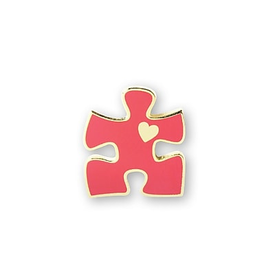 Lapel Pin, Essential Piece With Heart