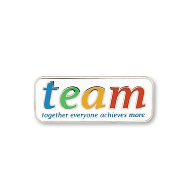 Baudville® Lapel Pin, T.E.A.M - Together, Everyone, Achieves, More