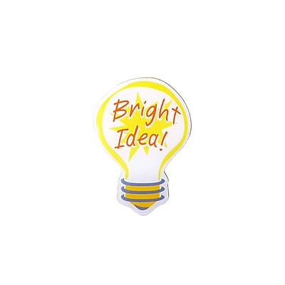 Lapel Pin, Bright Idea