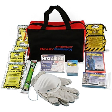 Ready America™ Grab 'N Go 1 Person 3 Days Bag Emergency Kit