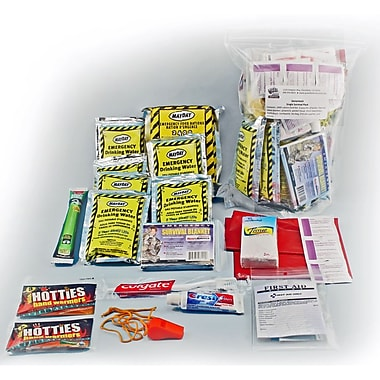 Ready America™ 1 Person 3 Days Shelter in Place Essentials Emergency Kit With Hygiene Poly Bag