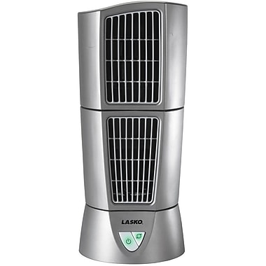 Lasko 174 4910 Platinum Desktop Wind Tower Fan Silver Staples 174