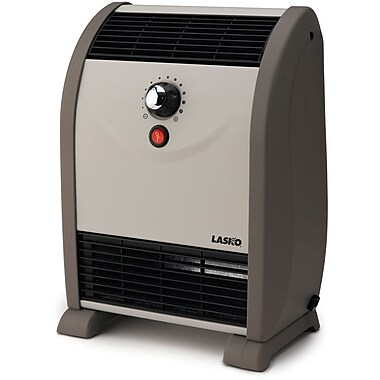 Lasko® 5812 750 W Automatic Air Flow Heater, Gray