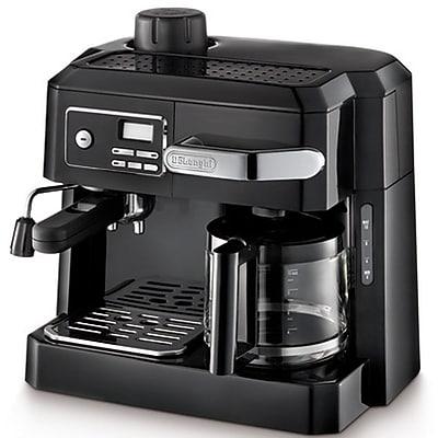 Delonghi BCO320T 10 Cup Programmable Combination Espresso and Drip Coffee Maker, Black