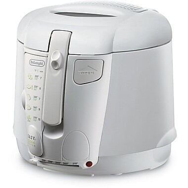 Delonghi 2.2 lbs. Roto Deep Fryer, White