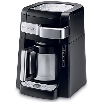 DeLonghi DCF2210TTC 10-Cup Drip Coffee Maker with Front Access 14660970
