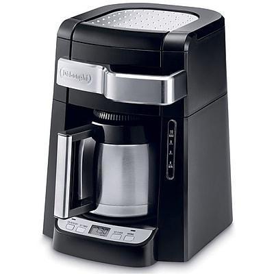 Delonghi DCF2210TTC 10 Cup Automatic Drip Programmable Coffee Maker, Black