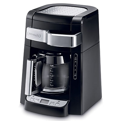 Delonghi DCF2212T 12 Cup Automatic Drip Programmable Coffee Maker, Black 205612