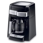 Delonghi 12 Cup Automatic Drip Programmable Coffee Maker, Black (DCF2212T)