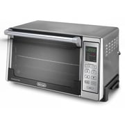 Delonghi 1300 W Digital Convection Toaster Oven, Silver