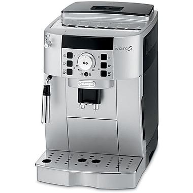 Delonghi ECAM22110 14 Cup Compact Super Automatic Magnifica Beverage Machine, Black/Silver