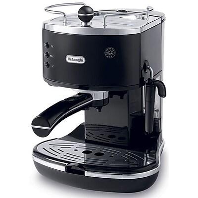 Delonghi ECO310 1 - 2 Cup Icona 15 Bar Pump Espresso Maker, Piano Black