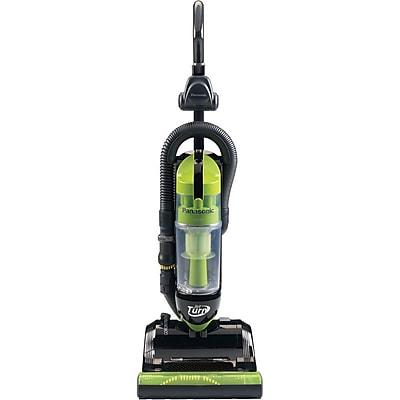 Panasonic® Bagless Upright Vacuum Cleaner With Swivel Steering, Black/Green