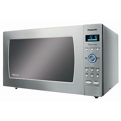 Panasonic® 1.6 cu. ft. Genius Prestige Countertop Microwave Oven With Inverter, Stainless Steel