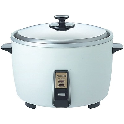 Panasonic 23 Cup Jumbo Electric Rice Cooker, Silver 205822